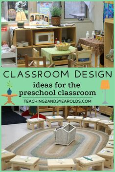 How to set up a preschool classroom: Come join our virtual tour of 6 different early childhood settings! Each one has it's own special touches that create a comfortable learning environment. #preschool #classroom #environment #tour #earlychildhood #education #teachers #backtoschool #teaching2and3yearolds Early Childhood Centre, Classroom Design, Preschool Classroom, Reggio, Virtual Tour, Home, Ideas, Ad Home, Homes