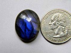 21x17 mm Lovely Blue Labradorite Cabochon Gemstone Oval