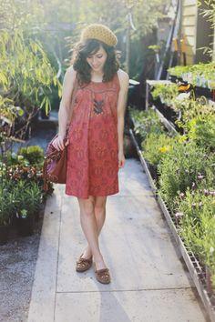Delightfully Tacky // Sula dress #fairtrade