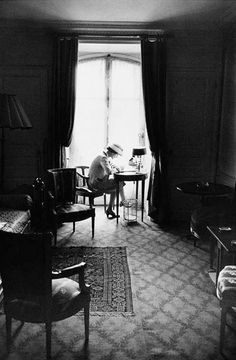 * Gabrielle Chanel 1957 photo Marc Shawn