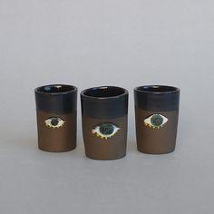Unique espresso cups by Aura Kajas