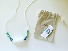 MintyWendy : Un collier à mâchouiller pour bébé