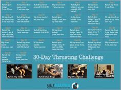 Hip Thrusting Challenge: It's intense and not for the faint of heart. I recommend having experience with loaded hip thrusts and bridges before giving it a-go.
