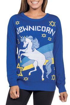 Women's Jewnicorn Sweater