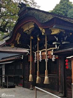 Temple shinto Kyoto Japon