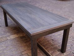 Weathered Rustic Farm Table. Harvest Table with by FurnitureFarm, $699.00