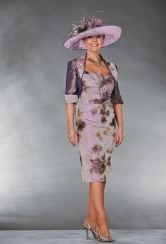 98706 Veni Infantino Occasion Wear Purple Floral Print Mother of ...
