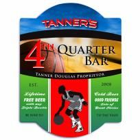 FREE SHIPPING WITHIN THE CONTINENTAL USA   Basketball Bar Sign  Our Basketball Bar sign is the quintessential accessory for any home bar, special occasion event, or basketball lover. Crafted in durable laminated wood, this high gloss signage featur...