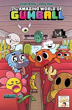 Cover for The Amazing World of Gumball Get it from BOOM! The Amazing World of Gumball Vintage Cartoon, Cartoon Movies, Cute Cartoon, Vintage Disney Posters, New Wallpaper, Cartoon Wallpaper, Cartoon Network Characters, Photo Wall Collage, Old Cartoons