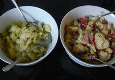 Be Veggie - going vegan: zweierlei Kartoffelsalat