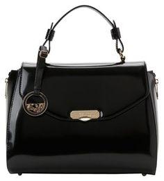 Versace Satchel in black