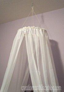 Easy DIY Princess Canopy |