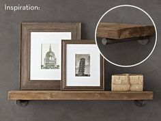 How To: Make Your Own Restoration Hardware-inspired Pipe Shelving
