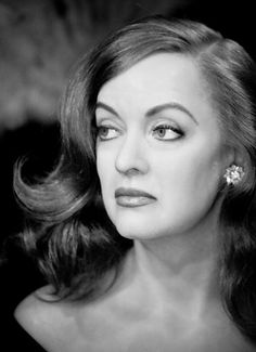 Bette Davis eyes  - a stunning photo of a screen legend. Description from pinterest.com. I searched for this on bing.com/images