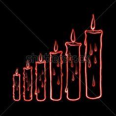 sketch-step-candle-with-laser-light-illustration_143991844.jpg (450×450)