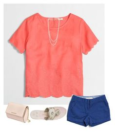 """""""Untitled #176"""" by madison-mills-1 on Polyvore featuring J.Crew, The Pearl Quarter, Givenchy and Jack Rogers"""