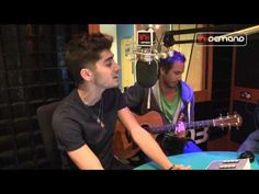 'Live While We're Young' LIVE Acoustic This is very good but I have to ask what is Niall doing over there in the corner? I wish he had more of a part in this however Zayn sounds particularly amazing!