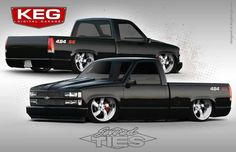 454ss rendering by KEG