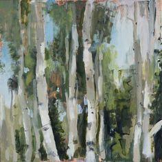 Original Landscape Painting by Mark Crenshaw Original Art, Original Paintings, Aspen, Art Oil, Impressionism, Wood Art, Landscape Paintings, Buy Art, Saatchi Art