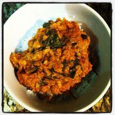 Big Batch Red Lentil & Spinach Curry