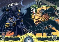 PIPOCA COM BACON - batman and wolverine dark claw #PipocaComBacon