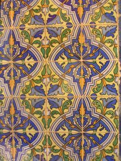 Reminiscent of the great pasta tile floors in Merida, Mexico