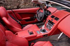 Aston Martin Vantage Roadster V12 Interior
