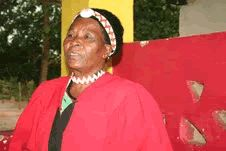 Chieftainess Nawaitwika of the Namwanga People