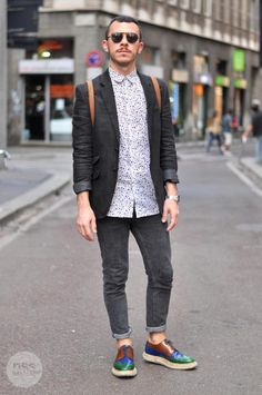 street style in milano - men's fashion