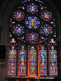 Grace Cathedral - Stained Glass Windows