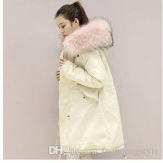 2017 Women'S Down & Parkas Three Colors Fashion Long Button White Down Duck Thick Hat Detachable Nuture Color From Fuzhuangstyle, $70.36 | Dhgate.Com