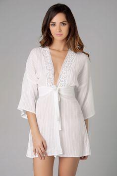 Elan International's Gauzes Kimono | Everything But Water