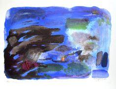 "Carl Nesjar, ""Romantisk kystlandskap"", Galleri Henrik Gerner"