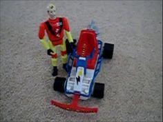 incredible crash dummies. slow motion. crash go kart crash tyco.
