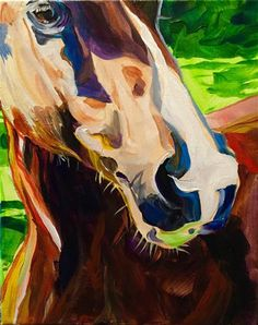 "Daily+Paintworks+-+""Abigail""+-+Original+Fine+Art+for+Sale+-+©+Lauren+Kuhn"