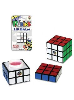 Rubik's Cube Lip Balm Too much for my heart to handle Quirky Gifts, Cool Gifts, Chapstick Lip Balm, Candy Lips, Nice Lips, Lip Stain, Cute Makeup, Lip Makeup, Beautiful Lips