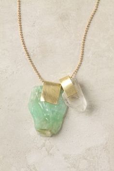 Sea foam green stone