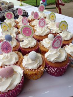 Easter cupcakes by Grace Baking