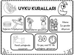 Pin by nazmiye on Saatler Senses Activities, Activities For Kids, First Day Of School, Pre School, Turkish Language, Birthday Week, Free To Use Images, Preschool Education, Team Building Activities