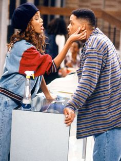 The Fresh Prince of Bel-Air - Publicity still of Will Smith & Tyra Banks