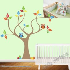 Vinyl Wall Tree Decal  Skip Hop Treetop Friends  by CadyDesignz, $80.00