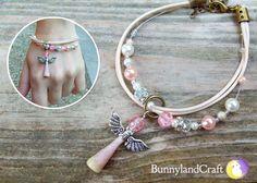 The pink ward - bracelet by BunnyLandCraft  ★ Follow me on FB: www.facebook.com/BunnylandCraft ★