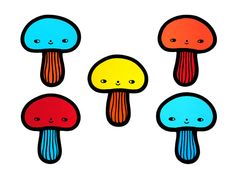 Sneaky Shroom  Contemporary Stained Glass | Flora Jamieson / The Round Window