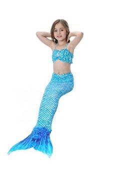 Purposeful Girls Mermaid Tail Swimsuit Cosplay With Monofin Fashion Bikinis Set Kids Mermaid Tails Swimwear Beach Swimming Costume Clothes Mother & Kids