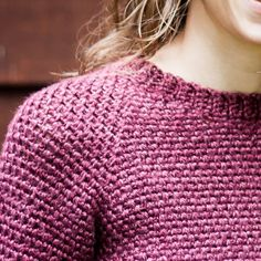 BTB Raglan Pullover Free Crochet Pattern - KT and the Squid Linen Stitch Crochet, Bag Crochet, All Free Crochet, Crochet Jacket, Crochet Woman, Crochet Basics, Crochet Clothes, Crochet Sweaters, Crochet Shrugs