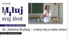 Přednáška: Helena Cmurová  - Lněný olej a naše zdraví