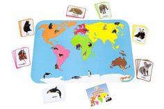 Teach My Continents and Animals Teach My -Toys