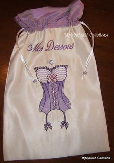 Pochette lingerie trousse pour adultes mymycoud