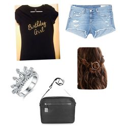 """""""birthday girl"""" by jhaj-1 ❤ liked on Polyvore featuring rag & bone/JEAN and Michael Kors"""
