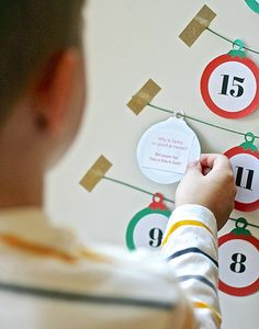 Advent calendars have become such a HUGE part of Christmas these days – have you noticed? We've tried several variations over the years from our DIY Freezer Paper Stencil Advent Calendar and our Family Activities Advent Calendar to our Reading Advent Calendar.  This year, though, with three kids including a 7 month old, I'm opting to …